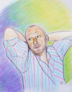 Portraits/dessins réalisés au fusain, crayons de bois et pastel... ColinFB-236x300